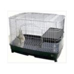 RABBIT CAGE WITH WHEELS MR306