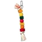 ROPE WITH 4 SMALL BLOCK & 3 BEADS 81136