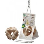 HANGING WOODEN CUBE (HAY) BALL MR264