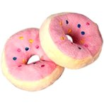 PLUSH TOY (STRAWBERRY DONUT) BW/AT2139
