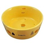 RABBIT ROUND SHAPE FEEDER 350ml ES13