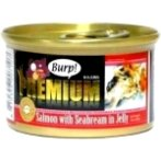 PREMIUM SALMON WITH SEABREAM IN JELLY 85g SEA0007107