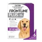 FLEA & TICK PLUS 6s FOR LARGE DOG 20-40kg FROPLUSLDOG