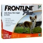FLEA & TICK PLUS 3s FOR SMALL DOG / PUPPY FROPLUS3SDOG