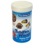 FREEZE DRIED TUBIFEX WORMS 30g TOT30N