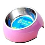 2in1 DURABLE BOWL w SS INSERT PINK 160ml-XS  54500