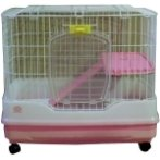 RABBIT CAGE (PINK/ SKY BLUE) MAQR60