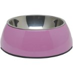 DURABLE BOWL w SS INSERT - PINK SMALL 73541