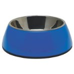 DURABLE BOWL w SS INSERT - BLUE SMALL 73542