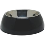 DURABLE BOWL w SS INSERT - BLACK SMALL 73544