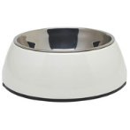 DURABLE BOWL w SS INSERT - WHITE SMALL 73545