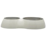 DOUBLE DINER w SS INSERTS - WHITE 73760