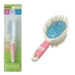 PURE PRETTY DOUBLE SIDED BRUSH FOR SHAMPOO & BRUSHING SMALL 83913