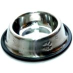 STEEL BOWL w PAW (XS)(4oz) YE73607XS