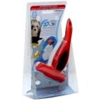 DESHEDDING TOOL (SMALL PETS-5kg) (RED) (X-SMALL) EDGE 3cm FL01084