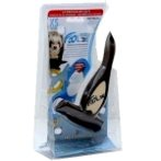 DESHEDDING TOOL (SMALL PETS-5kg) (CHOCOLATE) (X-SMALL) EDGE 3cm FL01046
