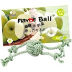 ROPE TOY (SMALL) - APPLE BW/AT3315