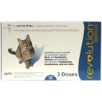 FLEA & TICK 3s FOR CATS 2.6-7.5kg (BLUE) RVB600C