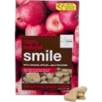NATURAL BISCUIT SMILE WITH ORGANIC APPLE + MILK PROTEIN 340g (12oz) IOD74612
