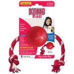 KONG SMALL BALL WITH ROPE KB21