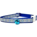 COLLAR WITH REFLECTIVE STAR (BLUE) BW/NYCR10PSTBL