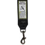 LANDING STRIP SAFETY BELT CLIP - BLACK RG0SBC19A