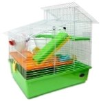 HAMSTER CAGE - 3 STOREY WITH SLANTED ROOF 61230