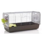 CAESAR 2 KNOCK DOWN DWARF RABBIT/ GUINEA PIG CAGE (SILVER) SV052199201