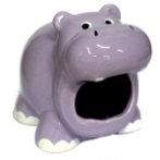 HAMSTER HOME - SMILEY HIPPO BW/MH21