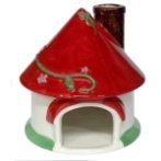 HAMSTER HOME - RED HOUSE BW/PMH140