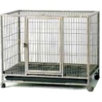 DOG CAGE WITH PLASTIC BOTTOM - HAMMERSPRAY D219LB