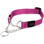 UTILITY - FANBELT OBEDIENCE HALF CHECK-  PINK (LARGE) RG0HC06K