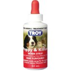 PUPPY & KITTEN WORM SYRUP 50 ml TROY70006