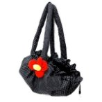 CARRIER WITH RED FLOWER (BLACK) YF82111LB