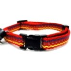 ADJUSTABLE COLLAR WITH STRIPE (RED) BW/NYCA10PRD