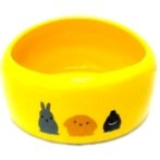SMALL ANIMAL BOWL (YELLOW)(SMALL) BW/MB01YL