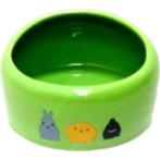 SMALL ANIMAL BOWL (GREEN)(MEDIUM) BW/MB02GN