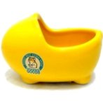 HAMSTER BATHTUB (YELLOW) BW/MH25YL