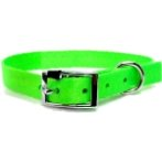 DOG COLLAR (SOLID)(LIME)(15mm*30-45cm) BW/NYCR15PALM