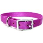 DOG COLLAR (SOLID)(PINK)(15mm*30-45cm) BW/NYCR15PAPK