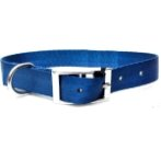 DOG COLLAR (SOLID)(BLUE)(25mm*50*65cm) BW/NYCR25PABL
