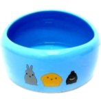 SMALL ANIMAL BOWL (BLUE)(LARGE) BW/MB03B