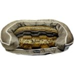 LUXURIOUS PET BED (LEOPARD)(SMALL) YF130703S