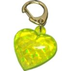 OMG-H/YL ID HOLDER - YELLOW HEART T581927