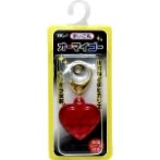 OMG-H/HP ID HOLDER - HOT PINK HEART T581903