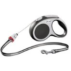 RETRACTABLE LEASH - VARIO CORD SMALL 5m - ANTHRACITE FVCSANTHRACITE