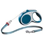 RETRACTABLE LEASH - VARIO CORD SMALL 5m - BLUE FVCSBLUE