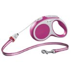 RETRACTABLE LEASH - VARIO CORD SMALL 5m - PINK FVCSPINK