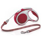 RETRACTABLE LEASH - VARIO CORD X-SMALL 3m - RED FVCXSRED