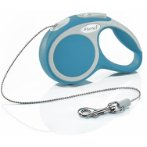 RETRACTABLE LEASH - VARIO CORD X-SMALL 3m - TURQUOISE FVCXSTURQUOISE